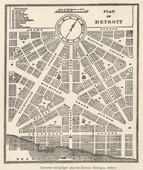 City of Detroit. Plan, Art and Architecture Images Collection