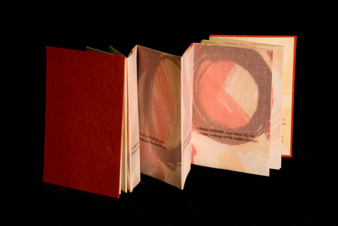 Lowdermilk, Susan: XO: On what might have been our anniversary., Artists' Books at the University of Oregon Libraries