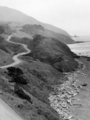 Oregon Coast Highway, ca. 1932, Frank Patterson Photographs