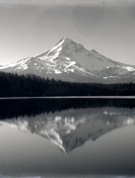 Sunrise on Mt. Hood from Lost Lake, Gifford Photographic Collection