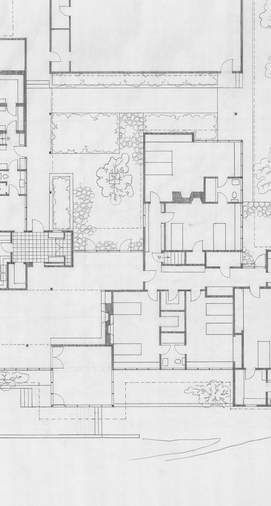 House and Garden Plan, John Yeon architectural drawings, 1934-1976