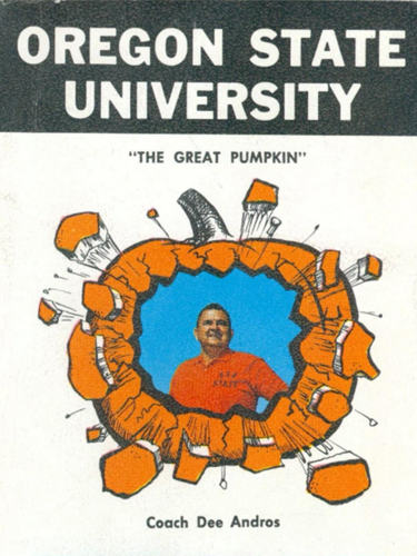 Football Media Guide, 1968, Oregon State University Sports Media Guides
