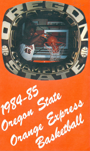 Basketball Media Guide, 1984, Oregon State University Sports Media Guides