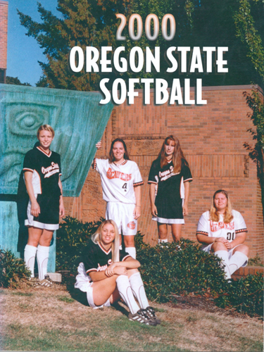 Softball Media Guide, 2000, Oregon State University Sports Media Guides