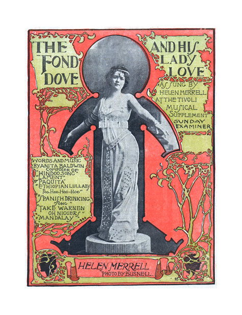 The fond dove and his lady love, Historic Sheet Music Collection