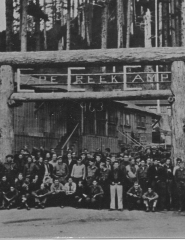 A Group of CCC Enrollees, The Siuslaw National Forest Collection