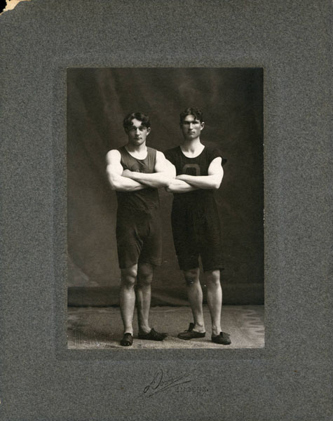 Richard S. Smith and Charles E. Wagner, 1897-1901, UO Athletics