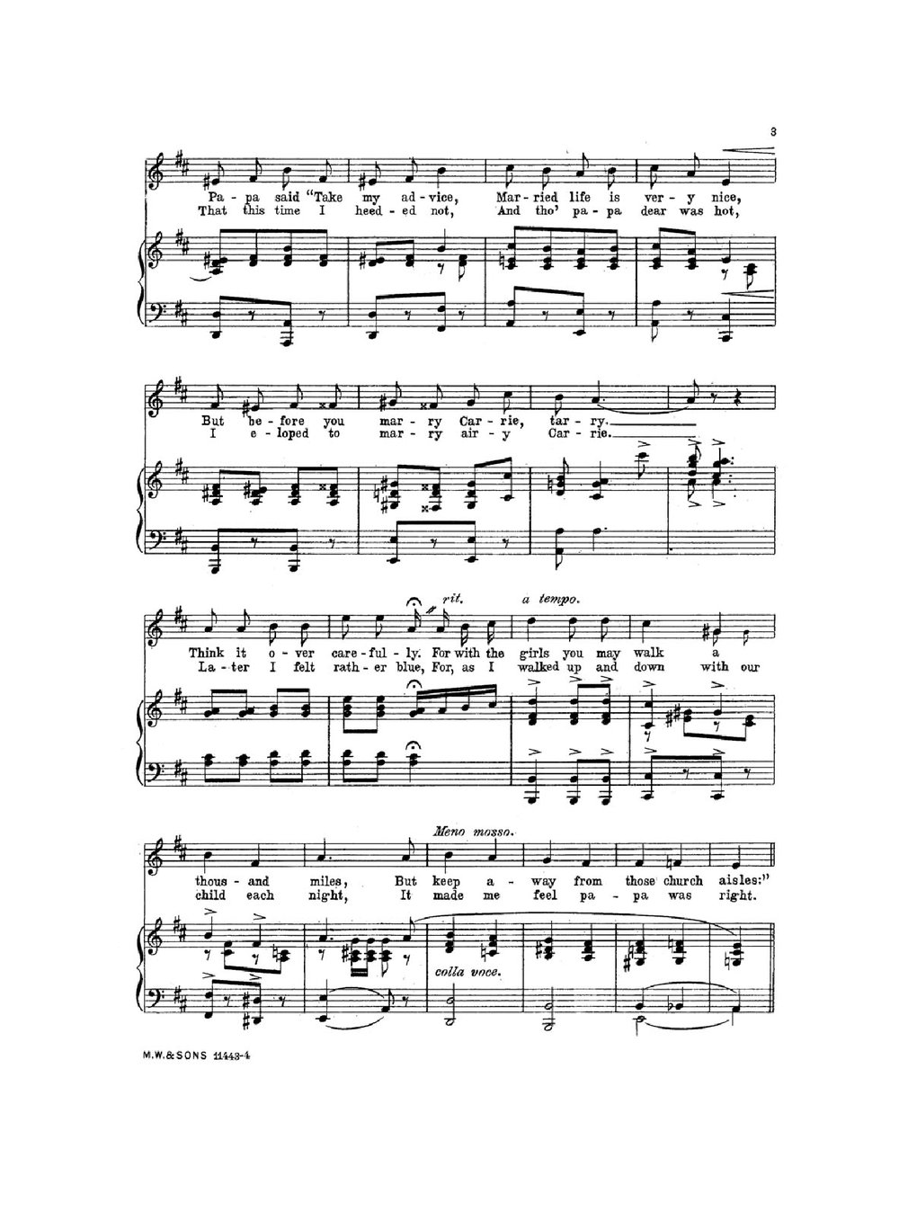 Wedding March Song.To The Strains Of That Wedding March Historic Sheet Music
