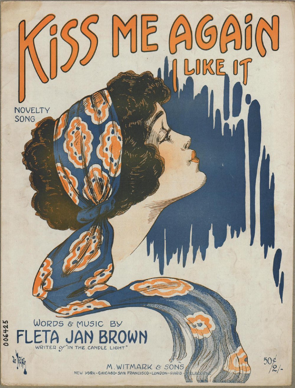 Kiss me again, I like it | Historic Sheet Music Collection