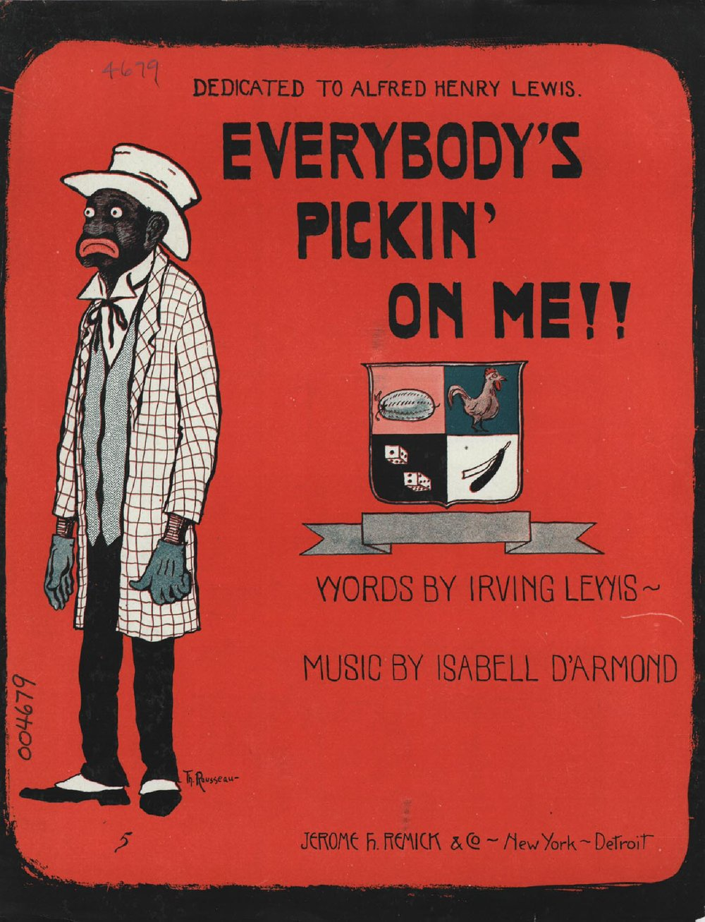 Everybody's pickin on me!! | Historic Sheet Music Collection