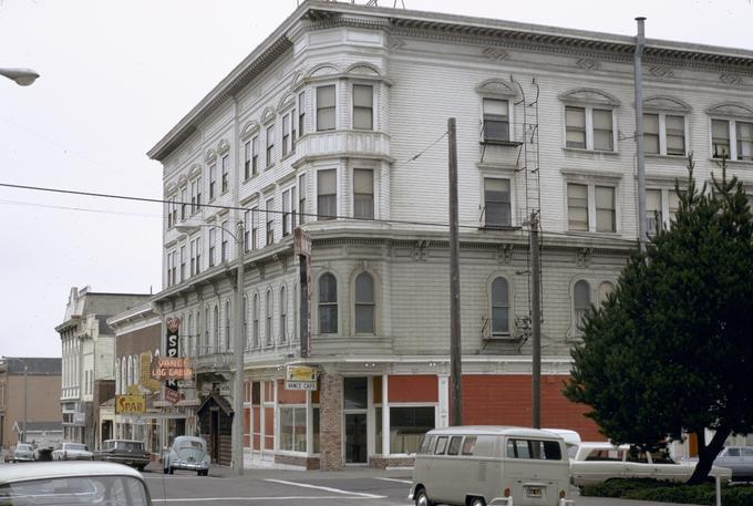 Le Vance Hotel Eureka California Photographer Ross Marion Dean Description This Image Is Included In Building Oregon Architecture Of And