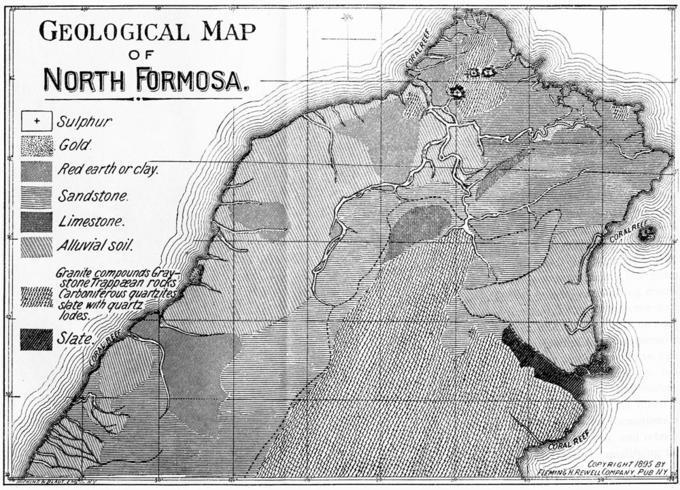 Geological Map of North Formosa