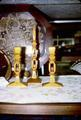 Set of Candlesticks and mate