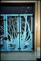 Copper Screen Gates