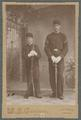 OAC cadets Harvey McAllister and Eddie Palmer, circa 1897