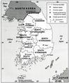 Administrative Divisions of South Korea, 1990