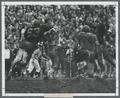 Football action, OSU vs. Oregon, 1968