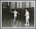 Double badminton championship for Sackett B, 1951