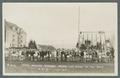 """Cross country runners before the start of the race, OAC"", January 17, 1920"