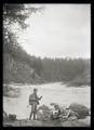 Finley and Bohlman fishing on the Klamath River