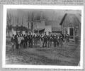 Band on 2nd Street in Corvallis, Oregon, 1887