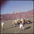 An extra point attempt at the 1965 Rose Bowl