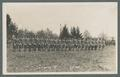 "OAC cadets in formation, Company ""B"" 1st Battalion, circa 1912"