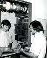Unidentified engineering students, circa 1970