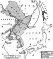 Reference Map Regarding Treaty of Peace Between Russia and Japan, 1905