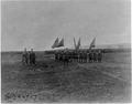 General Ulysses McAlexander with troops on field