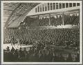 A boxing match held in the College Armory and attended by members of the Students' Army Training Corps