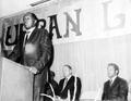 Tom Bradley speaking at the Urban League of Portland's 1970 Annual Meeting