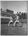 OSC runners, Peterson and Cherry, circa 1950