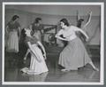 Orchesis members in a dance formation, 1951