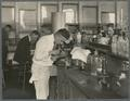 Students working in the OAC Chemistry Laboratory