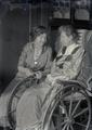 Two women with one woman in a wheelchair