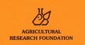 Agricultural Research Foundation logo.