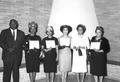 Awards recipients at the 1963 Annual Meeting