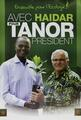 With Haidar for President Tanor, Senegalese Green Party campaign poster