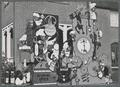 """Beaver Machine"" homecoming display"