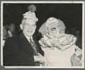Governor Douglas McKay and Bozo the Clown (Pinto Colvig) at Homecoming
