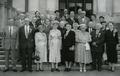 Fiftieth reunion of the class of 1905, June 1955. Alice Jones is located front row, fifth from left.