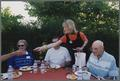 OSU First Lady Les Risser and others at the Corvallis alumni picnic