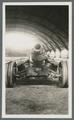 M1918 155mm Howitzer, view of bore, circa 1920