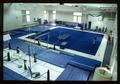 Interior view of the Gladys Valley Gymnastics Center
