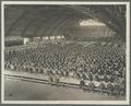 OAC Students' Army Training Corps members eating in the College Armory