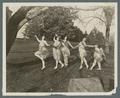 Dance pageant on the lawn, 1923