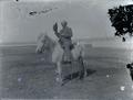 Man on horseback, Central or Eastern Oregon?