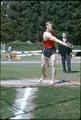 OSU's  Tim Vollmer prepares to throw the discus