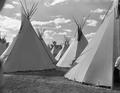 Pendleton Round Up, teepee village